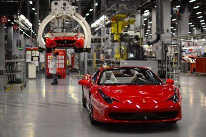Lavoro in Ferrari